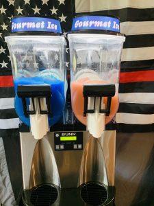 Double Bowl Frozen Drink Machine